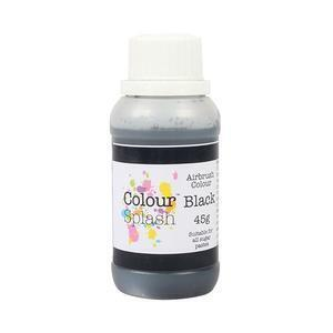 Black Airbrush Color 45 g.