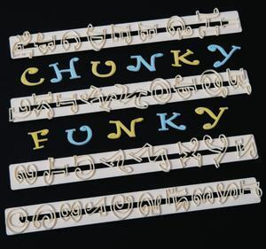 Chunky Funky Alphabet and Numbers