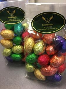 25 pcs. Valrhona Easter egg. in bag