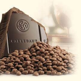 Callebaut Belgian couverture chocolate, Dark 57,7%, 200 g.