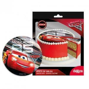 Cars3, sugar wafer picture, 20 cm.
