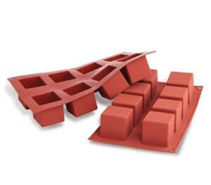 8 pcs. Cube silicone mat