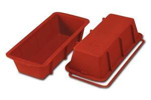 Plum Cake silicone baking mould 30 x 10 x 7 cm.