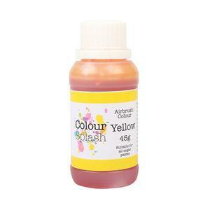Yellow airbrush color 45 g.