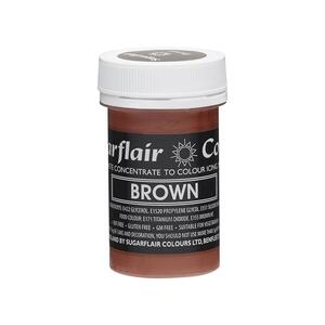 Brown icing color 25 g.
