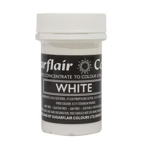 White icing color 25 g.