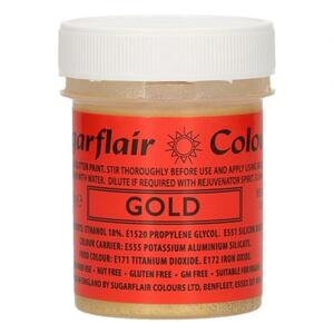 Glitter Food Paint - Gold 35 g.