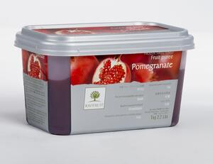 pomegranate puree, 1 kg. frozen