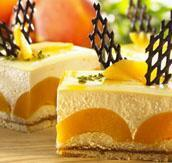 Peach and Passion fruit cream fix 1 kg. big buy - save 20%