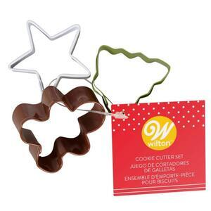 Wilton Mini Cookie Cutter Christmas Set/3