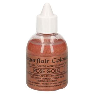 Rose Gold airbrush color fra Sugarflair, 60 ml.