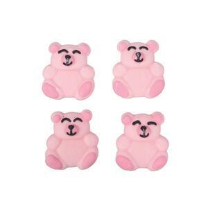 Pink Bear Sugar Pipings 12 piece