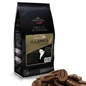 Valrhona Illanka 63% dark chocolate 250 g..