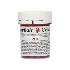 Red cocoabutter 35 g. Sugarflair
