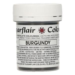 Burgundy cocoabutter 35 g. Sugarflair