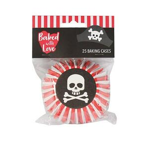 Pirates standard baking cups, 25 pieces