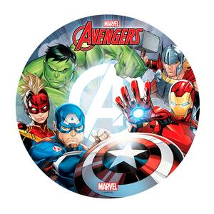 Avengers sugar wafer picture, 20 cm.