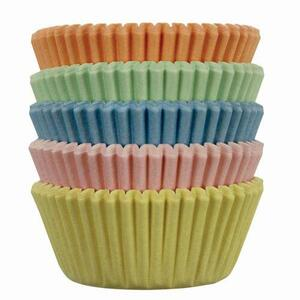 Mini Baking cups Pastel pk/100