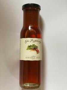 Rhubarb syrup 250 ml. from Nybro Plantage