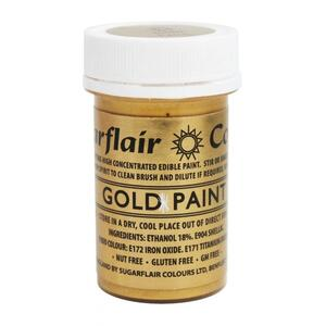 SUGARFLAIR Gold - Edible Matt Paint 20g