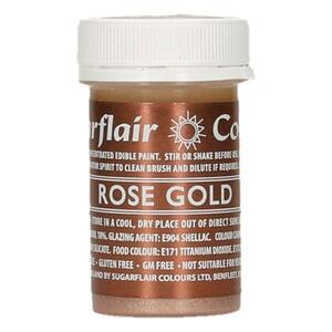 SUGARFLAIR Rose Gold - Edible Matt Paint 20g