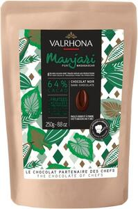 Valrhona Manjari 64%, 250 g. in gift bag