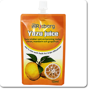 Yuzu juice 100% puré 120 ml.