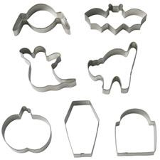 Coffin cookie cutter set, 7 pieces