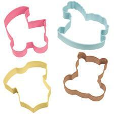 4 Piece Baby Cookie Cutter Set. 7,5 cm