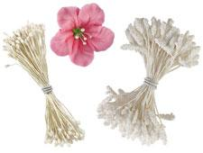 Flower stamen assortment, 3 x 60 pc.