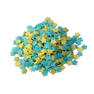 Star Sprinkles, Yellow, Green and Blue